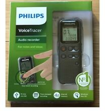 Brand New Philips DVT1110 Voice Tracer Audio Recorder 4GB Free Shipping