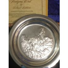 1972 FRANKLIN MINT STERLING SILVER PLATE