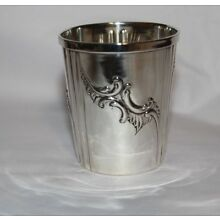 FRENCH SILVER CUP .950 PURITY c 1900 FINE ESTATE PIECE ANTIQUE GORGEOUS