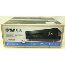 Yamaha R-S202 Natural Sound Bluetooth 200-Watt Stereo Receiver FM/AM - NEW