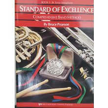Standard of Excellence Comprehensive Band Method:  Bb Tenor Saxophone: Book 1