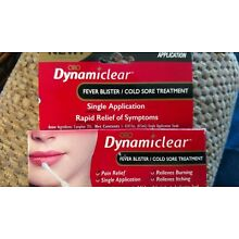 ORO Dynamiclear Fever Blister/Cold Sore Treatment Single Application NEW IN BOX