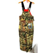 Mossy Oak Breakup Infinity Insulated Bibs Overalls Youth X-Large New With Tags