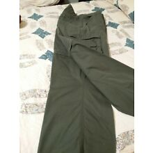 BOY SCOUTS OF AMERICA-LADIES SCOUT GREEN PANTS/SHORTS- SIZE 16
