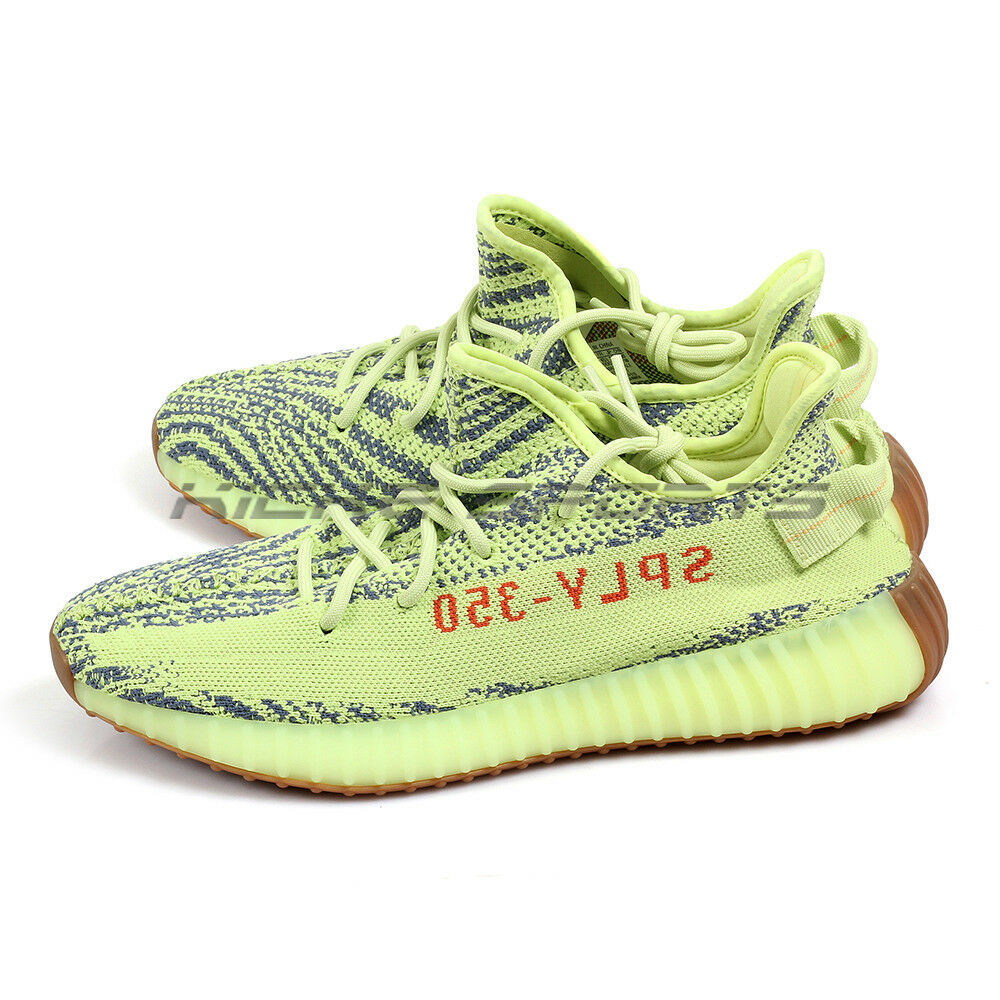 bf5b775aa2f8b8 Details about Adidas Yeezy Boost 350 V2 Semi Frozen Yellow Fashion  Lifestyle Shoes B37572