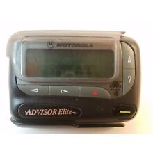 Motorola Advisor Elite Pager Beeper with Holster