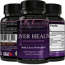 Liver Support Health, Daily Liver Protection Liver Cleanse, Detox, Regeneration