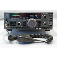 Kenwood TS-140S HF Transceiver SSB CW AM FM 160-10 Meters WORKS GOOD