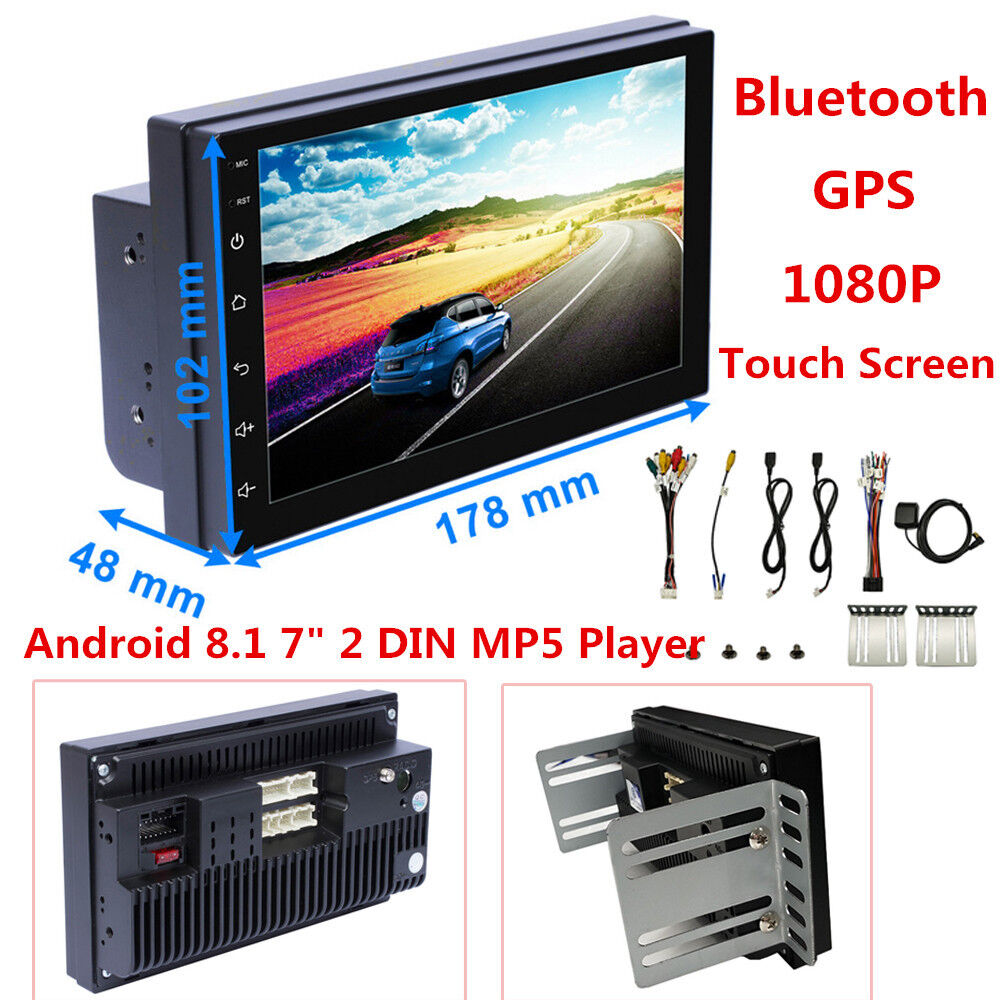 Universal 7 2din Android 81 Car Radio Gps Navigation Audio Stereo Renault Laguna Fuse Box Location Mp5 Player Ebay