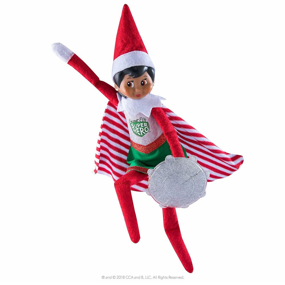 Elf On The Shelf Scout Superhero Girl Outfit Clothes Dress