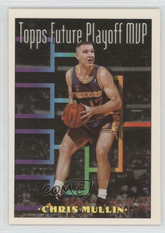 6b547737cce5 Details about 1993-94 Topps  209 Chris Mullin Golden State Warriors  Basketball Card