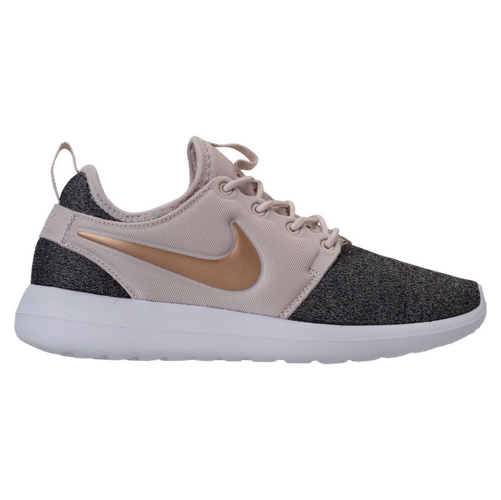 4916c8fc22a0 Details about Nike Roshe Two Knit Womens AA1113-100 Orewood Brown Blur  Running Shoes Size 9