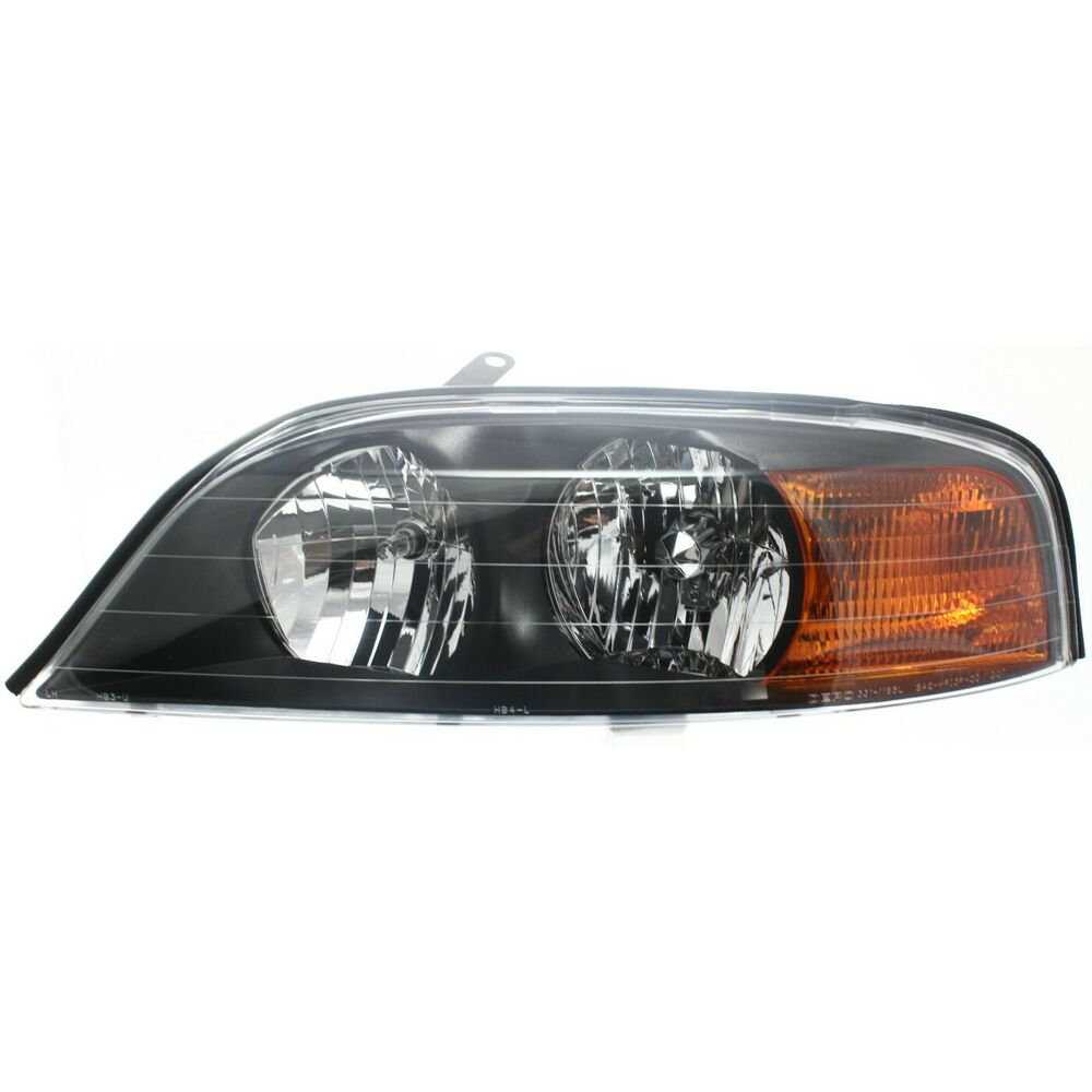 Details About Headlight For 2000 2001 2002 Lincoln Ls Left Clear Lens With Bulb