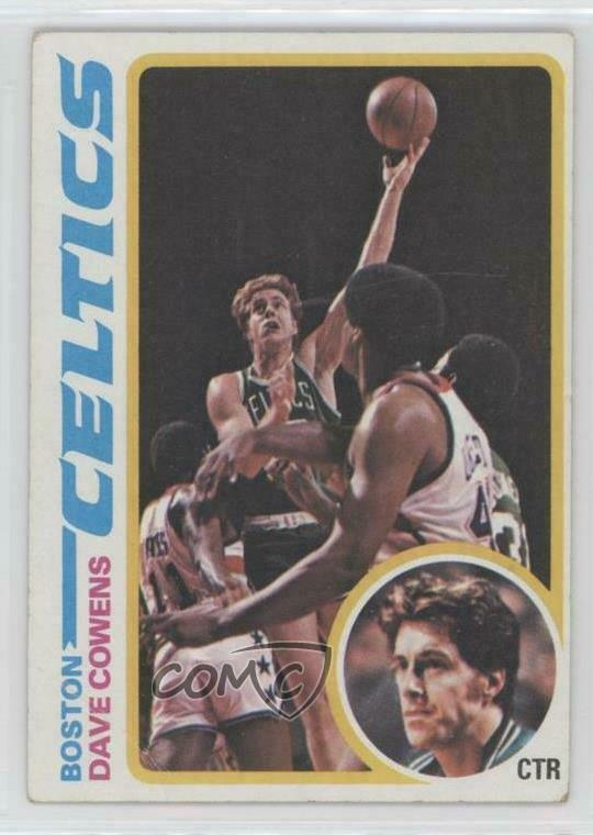 15f92a58c Details about 1978-79 Topps  40 Dave Cowens Boston Celtics Basketball Card