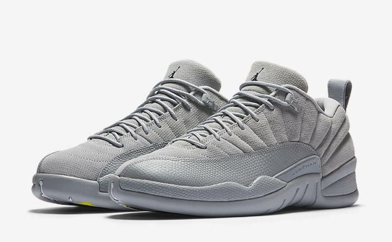 the latest e7457 cf437 Details about Nike Air Jordan 12 Retro Low Wolf Grey Size 16-18 Navy Maize  Yellow 308317-002