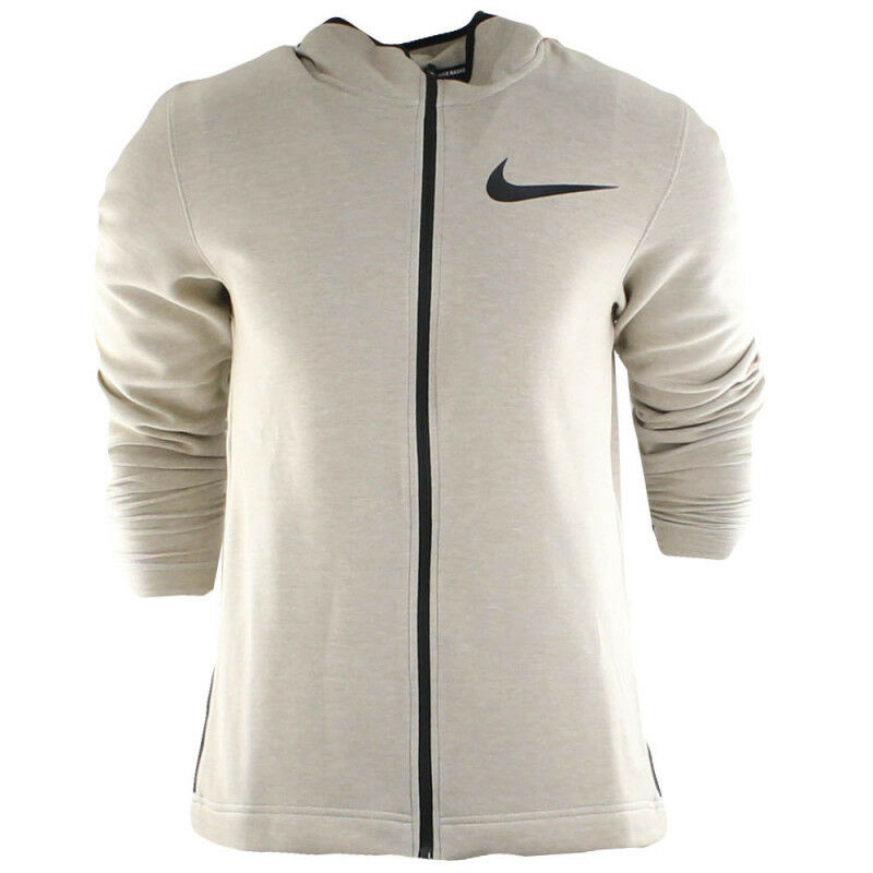 best sneakers 8f6d2 0abd6 Details about Nike Hyper Elite Dry Hoodie Showtime Basketball Khaki (Small,  Medium) 856447-235