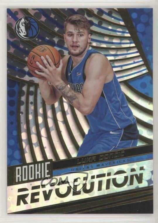 Details about 2018-19 Panini Revolution Rookie  1 Luka Doncic Dallas  Mavericks Basketball Card 6116874df