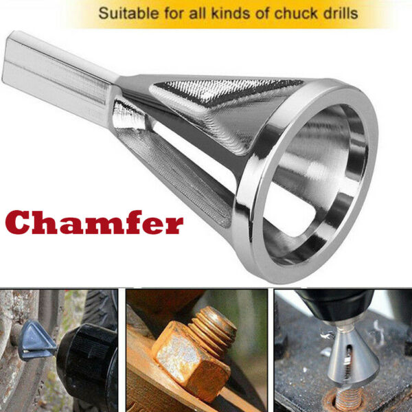 Deburring External Chamfer Tool CR Stainless Steel Remove Burr Tools Drill Bit