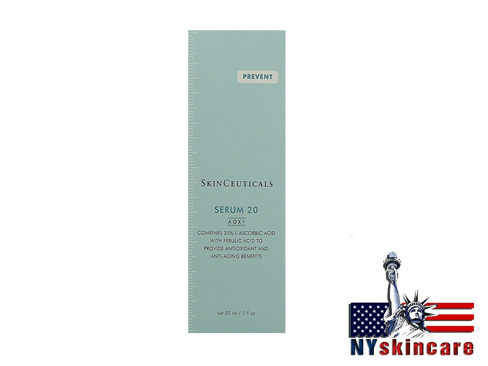 Skinceuticals Serum 20 Aox+ Normal Oily Skin 30ml/1oz Anti Aging Brand