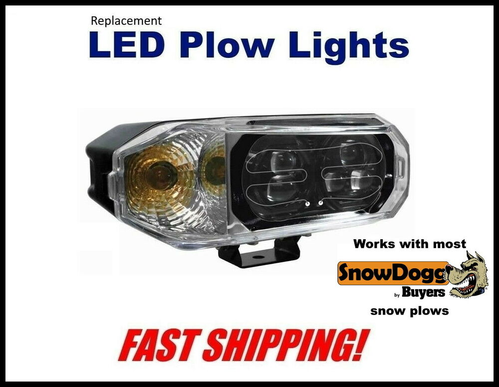 snowdogg super bright led snow plow headlight replacement. Black Bedroom Furniture Sets. Home Design Ideas