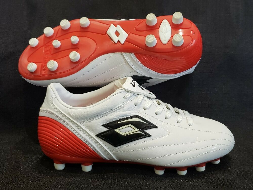 34c76697d915 Details about YOUTH SOCCER futbol shoes CLEATS LOTTO ZHERO LEGGENDA DUE JR  FG New in Box