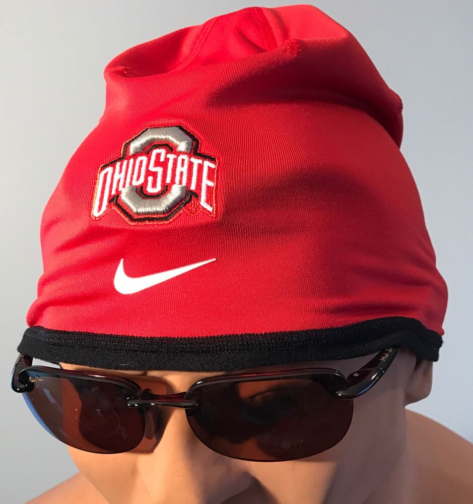 40227e3bc2c Details about new ohio state buckeyes osu nike dri fit beanie hat cap mens  red jpg