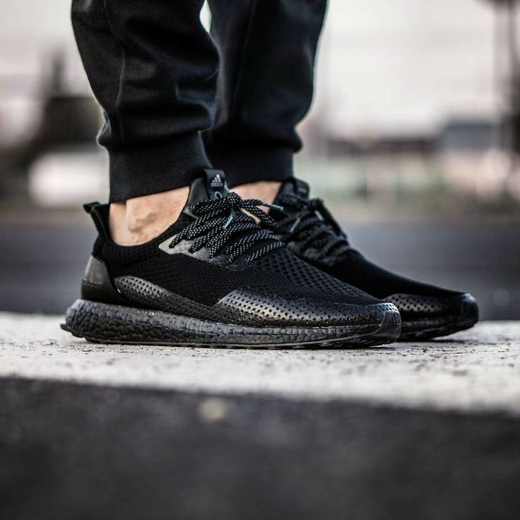 d555f1ffeec58 Details about Adidas Ultra Boost Haven Uncaged Consortium BY2638 Size 12  Triple Black Pure