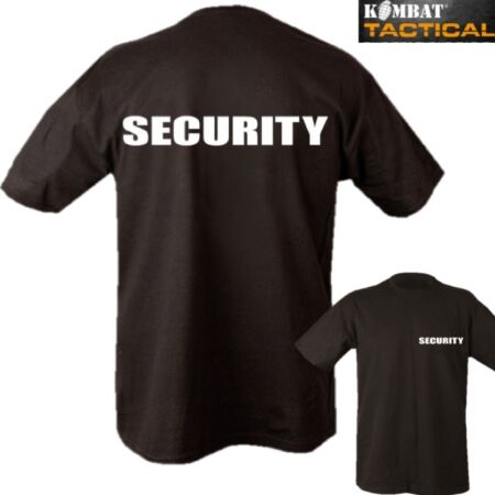 img-SECURITY T-SHIRT 2 SIDED PRINT MENS S-2XL 100% COTTON DOORMAN WORKWEAR SECURITY