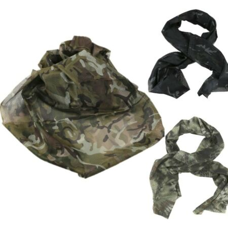 img-MILITARY TACTICAL SCARF CAMO CONCEALMENT SCRIM NET ARMY SNIPER VEIL SAS DISGUISE
