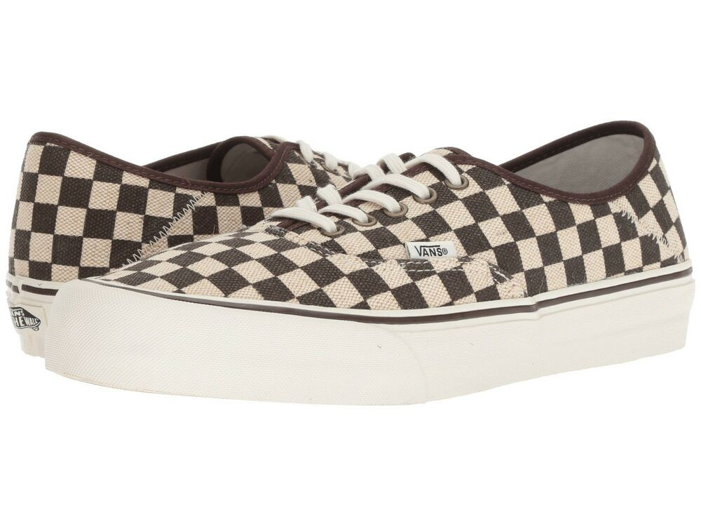 3be6a402ed9 Details about RARE MEN S VANS AUTHENTIC ULTRACUSH SF SHOES SIZE 9  DISTRESSED CHECKER