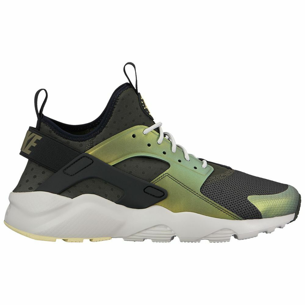 497d70c244fd9 Details about Nike Air Huarache Run Ultra SE Mens 875841-302 Sequoia Citron  Shoes Size 9