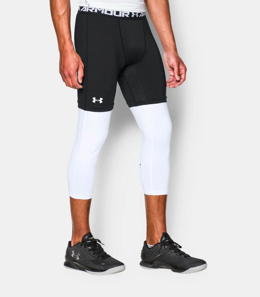 4e01a724b0ce0 Details about UNDER ARMOUR Men's SC30 Lock In 3/4 Basketball Compression  Leggings NWT Size 3XL