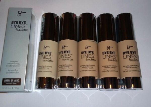 IT Cosmetics Bye Bye Lines Foundation - Full Size - New in Box - You Choose