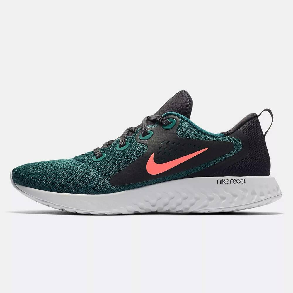 9d5bc2c8e10 Details about Nike MENS RUNNING SHOES - LEGEND REACT - GYM TRAINERS - LACE  - TEAL  AA1625-300