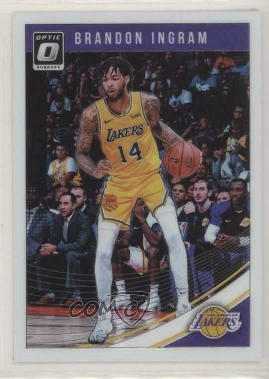 60db5b9dbf2 Details about 2018 Panini Donruss Optic #64 Brandon Ingram Los Angeles  Lakers Basketball Card