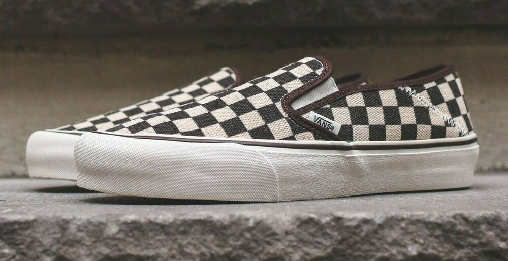 8ef8e0933ec69b Details about Vans Slip-On Sf Ultracush Checkerboard Skate Shoes Men s Size  13 Checkers