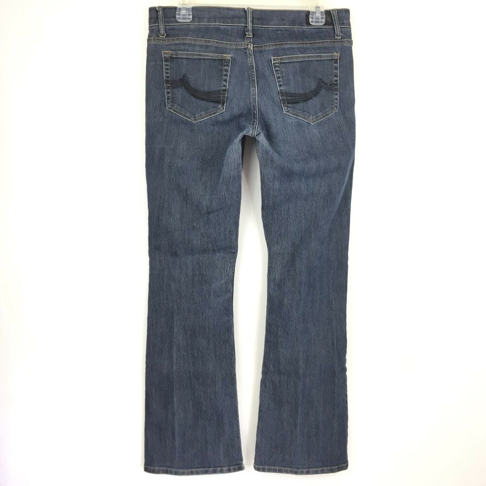 7c04993b4ae06 Details about Buffalo I Jeans Women s Landis Boot Cut Medium Wash Stretch  Size 30 (10) X 33