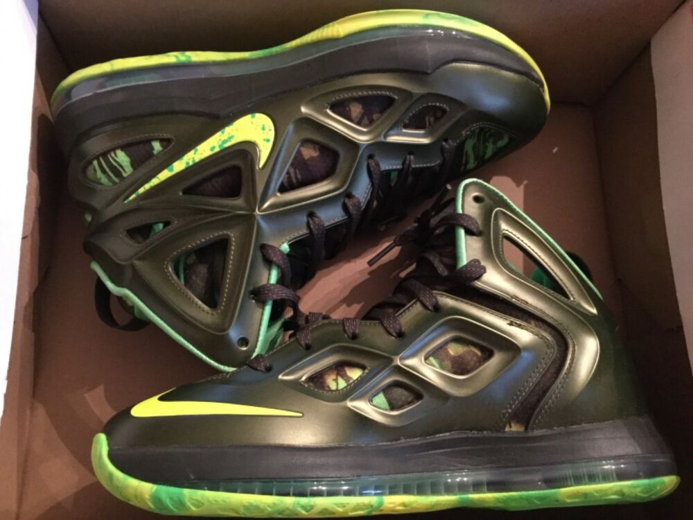 4c76ed7406f2 Details about New Nike Mens Air Zoom Hyperposite 2 Shoes Sneakers  653466-373 9.5 rough green