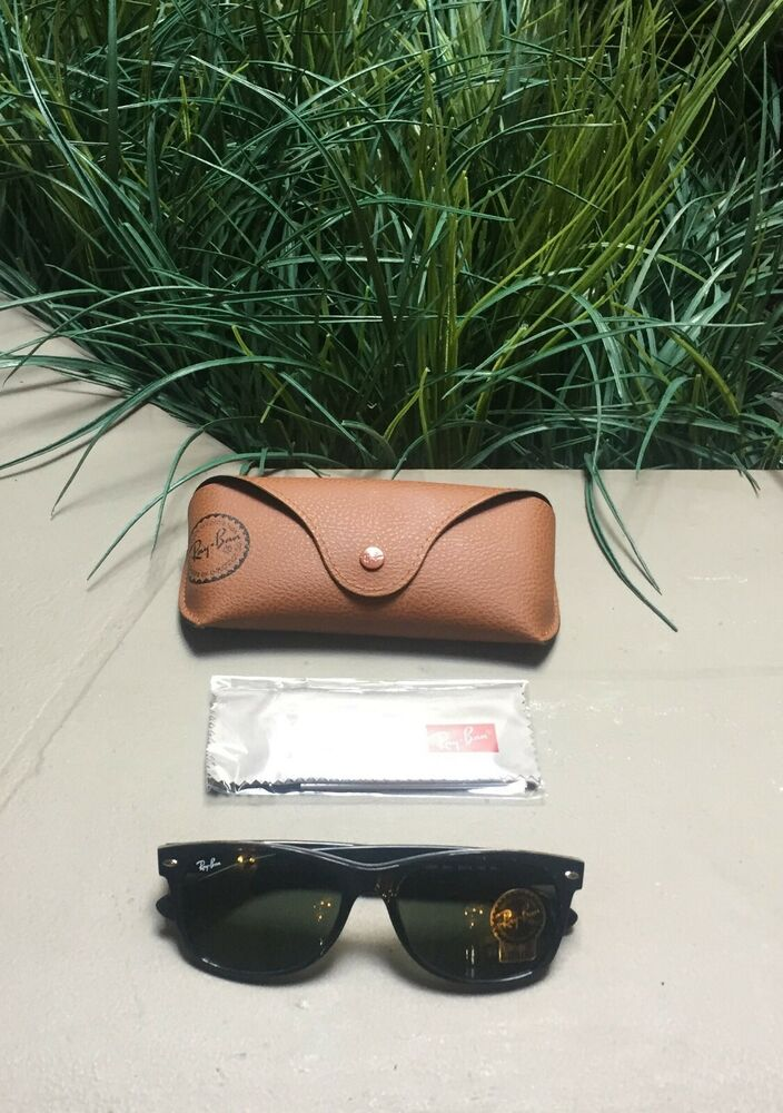 c9ef753cd500 Details about RayBan Wayfarer Polarized Black Frame Sunglasses RB2140 901 58  54  18 150 3P
