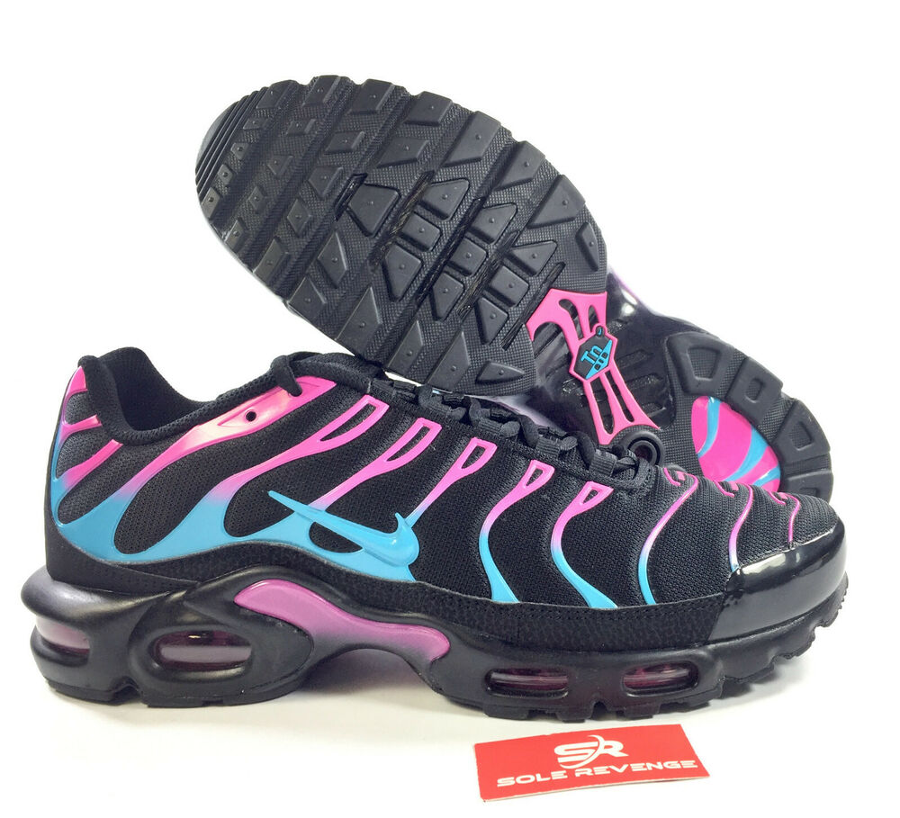NIKE AIR MAX PLUS TN SE CI2368,001 Black/Blue Fury/Laser Fuchsia City  Bright