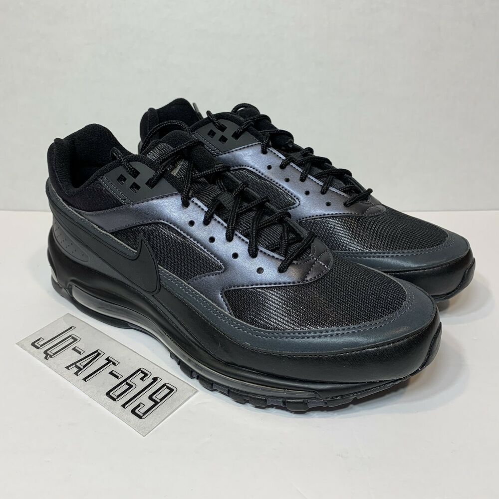 0726ee83712bc Details about NIKE AIR MAX 97 BW SIZE 10.5 BLACK BLACK-METALLIC HEMATITE AO2406  001