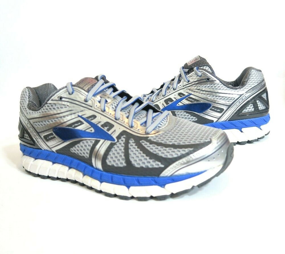 super cute top-rated newest cheapest sale Brooks Beast 16 Mens Running Shoes Sneakers Gray Blue Size 8 ...