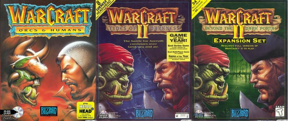 WARCRAFT I, II and PORTAL w/MAP EDITOR +1Clk Windows 10 8 7 Vista XP  Install | eBay