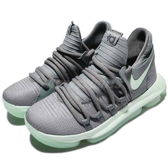 f411730526f35 Details about ☆ Nike Zoom KD 10 Kevin Durant GS Cool Gray Igloo White 918365  002 Size 6.5Y ☆