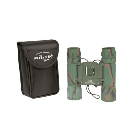 img-MIL-TEC JUMELLES 10X25 CAM OUTDOOR PRODUCT COMPACT LEGERE ARMEE MILITAIRE PR