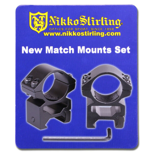 Nikko Rifle Scope MOUNTS 2 Piece 1