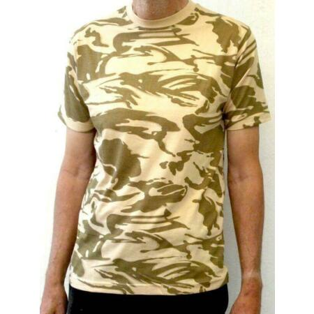 img-MILITARY ARMY STYLE DESERT CAMO SHORT SLEEVE T-SHIRT TOP 32-46