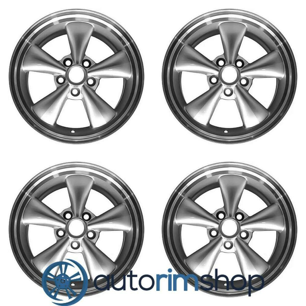 Details about ford mustang 2005 2009 17 factory oem wheels rims set