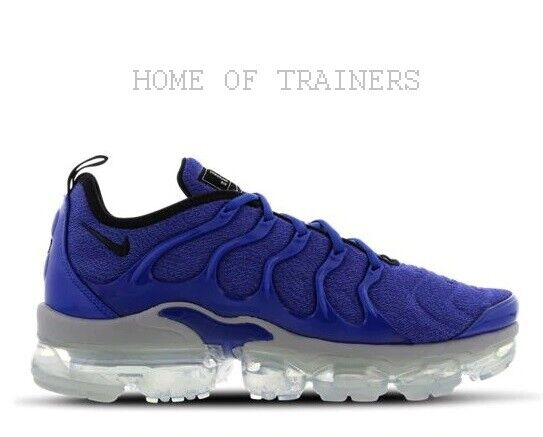 d77c87f738017 Details about Nike Air Vapormax Plus Game Royal Black Wolf Grey Blue Men s  Trainers All Sizes