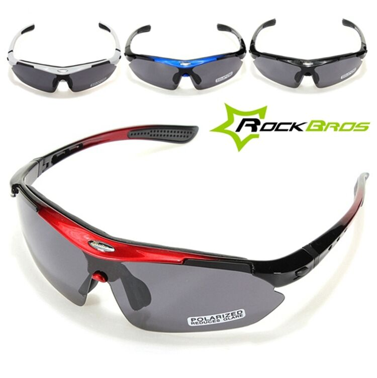 fdd6be2be4 Details about RockBros Polarized Cycling Bike Bicycle Sunglasses Glasses  Goggles USA SELLER